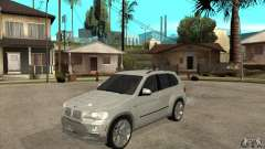 BMW X5 E70 Tuned for GTA San Andreas