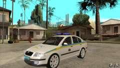Skoda Octavia II Ukrainian TRAFFIC POLICE