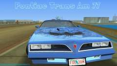Pontiac Trans Am 77 for GTA Vice City