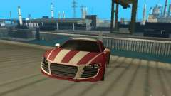 Audi R8 Le Mans NFS Carbon v2.0 for GTA San Andreas