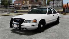 Ford Crown Victoria Unmarked ELS for GTA 4