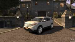 Ford Explorer 2011 for GTA 4