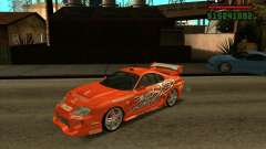 Toyota Supra MK4 tunable for GTA San Andreas