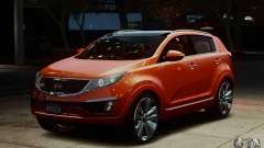 Kia Sportage 2010 Stock Final for GTA 4