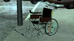 Manual wheelchair for GTA San Andreas
