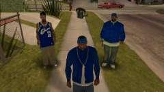 Piru Street Crips for GTA San Andreas