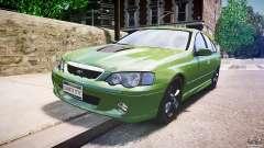 Ford Falcon XR8 2007 Rim 1 for GTA 4