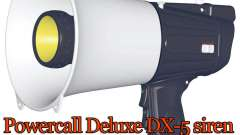 Powercall siren Deluxe DX-5