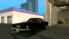 Shelby Mustang GT500 1967 for GTA San Andreas