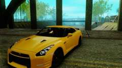 Nissan GTR Egoist 2011 for GTA San Andreas