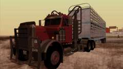 Peterbilt 359 Day Cab for GTA San Andreas