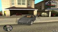 Ferrari 612 Scaglietti 2005 for GTA San Andreas