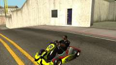 Shifter Kart 125CC HQ for GTA San Andreas