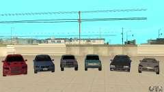 DRIFT CAR PACK for GTA San Andreas
