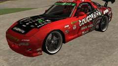 Mazda RX-7 drift king for GTA San Andreas