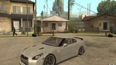 Nissan GTR SpecV 2010 for GTA San Andreas