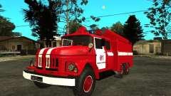 ZIL 131 fire