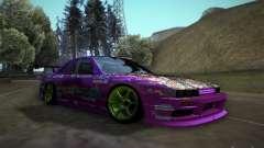 Nissan Silvia S13 Team Burst for GTA San Andreas