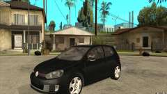VW Golf 6 GTI for GTA San Andreas