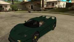 Ferrari F50 - style DTM TUNING for GTA San Andreas
