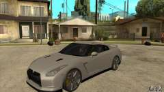 Nissan GT-R R35 2008 for GTA San Andreas