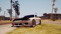 Nissan Silvia S15 белый for GTA San Andreas
