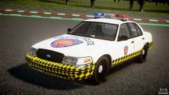 Ford Crown Victoria Karachi Traffic Police for GTA 4