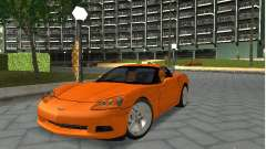 Chevrolet Corvette (C6) for GTA San Andreas