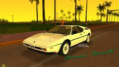 BMW M1 (E26) 1979 for GTA Vice City