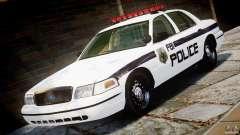 Ford Crown Victoria 2003 FBI Police V2.0 [ELS] for GTA 4