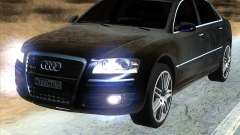 Audi A8L W12 for GTA San Andreas