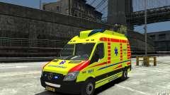 Mercedes-Benz Sprinter 2011 Ambulance for GTA 4