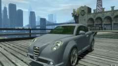 Alfa Romeo Mito silver for GTA 4