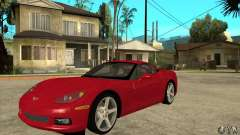 Chevrolet Corvette C6 Z51 - Stock for GTA San Andreas