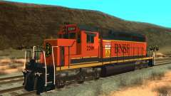 Locomotive SD 40 Union Pacific BNSF for GTA San Andreas