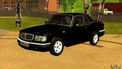 Volga GAZ 3110 sedan for GTA San Andreas