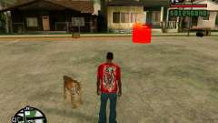 Tiger in GTA San Andreas for GTA San Andreas