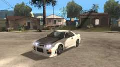Nissan Skyline R-34 TUNED for GTA San Andreas