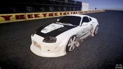 Toyota Supra ProStreet Style for GTA 4