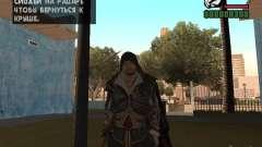 Ezio auditore in armor of Altair