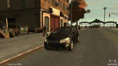 Ford Focus Universal Unmarked for GTA 4