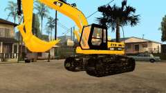 Excavator CAT for GTA San Andreas