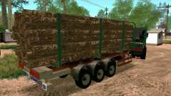 Trailer for Kamaz 65117 for GTA San Andreas