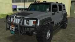 Hummer H3 SUV FBI