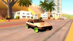 Toyota Corolla Carib AE86 for GTA San Andreas