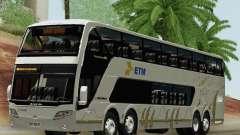 Busscar Panoramico DD 8x2 for GTA San Andreas