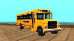 School bus for GTA San Andreas