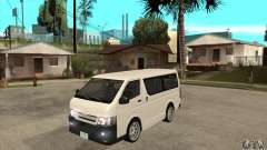 Toyota Hiace for GTA San Andreas