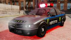 Police Monster Energy for GTA 4