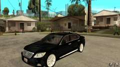 Lexus LS460L 2010 for GTA San Andreas